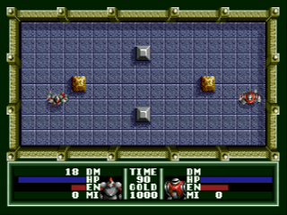 Screenshot Thumbnail / Media File 1 for [SegaNet] Robot Battler (Japan)